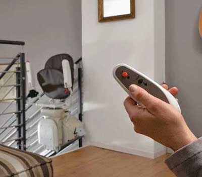 Remote Control for straight stairlifts