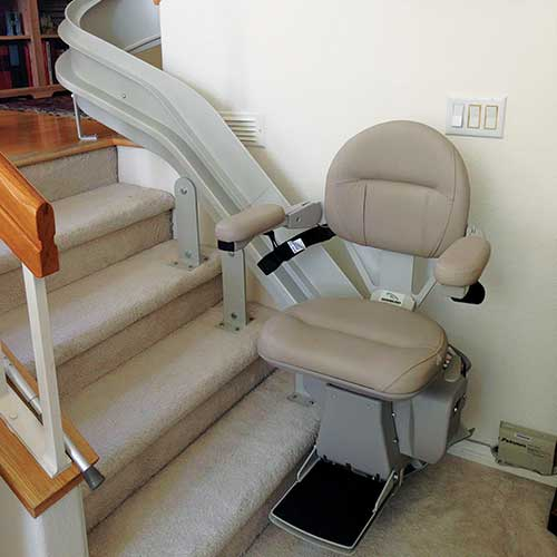 The 'Elite' range of heavy duty stairlifts